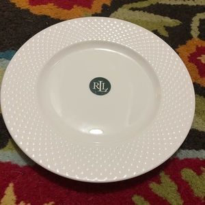 Two NWT Ralph Lauren Barrett Salad Plates
